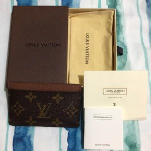 LV Mono Card Holder